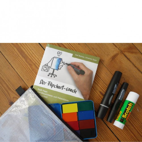Flipchart coach im Trainer Set 1